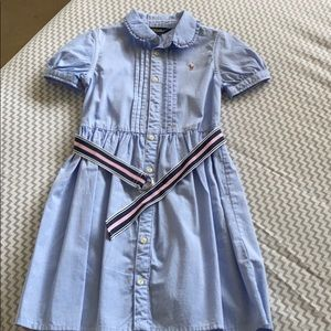Polo Ralph Lauren Belted Kids Dress